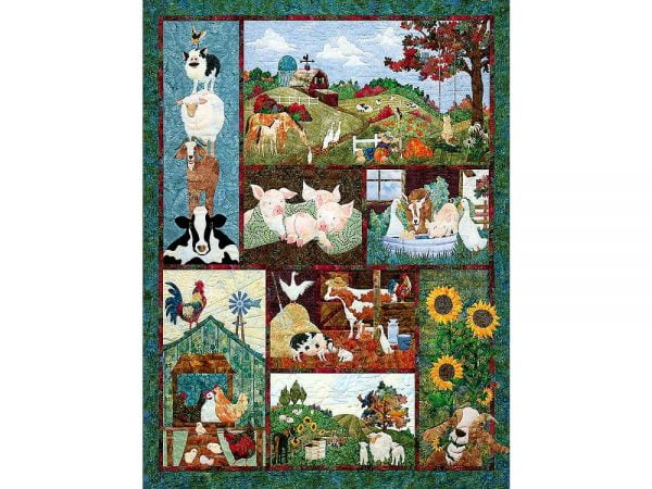 Back on the Farm 500 Piece Cobble Hill Puzzle