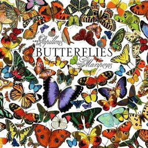 Butterflies 1000 Piece Jigsaw Puzzle - Cobble HIll