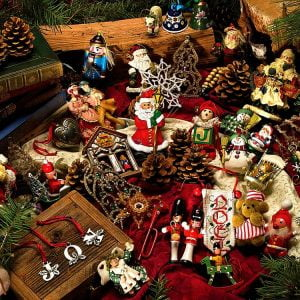 Christmas Ornaments 275 Large Piece Puzzle
