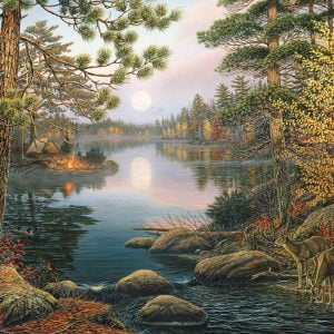 Deer Lake 1000 Piece Cobble Hill Puzzle