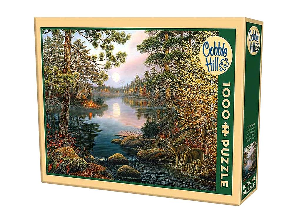 Deer Lake 1000 Piece Puzzle by Cobble Hill