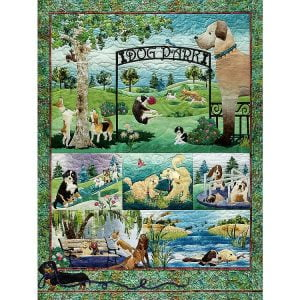 Dog Park 500 Piece Cobble Hill Puzzle