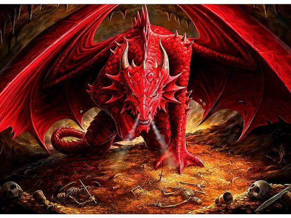 Dragon's Lair 1000 Piece Puzzle