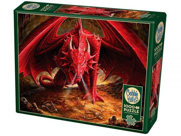Dragon's Lair 1000 Piece Puzzle - Cobble Hill