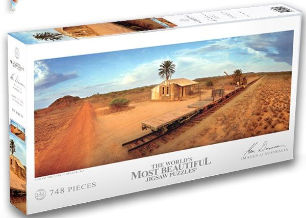 End of the Line, Cossack, Western Australia 748 Piece Puzzle