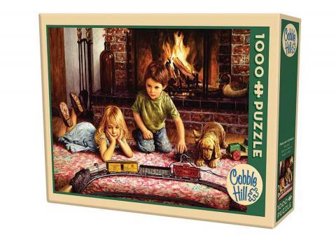 Firelight Express 1000 Piece Puzzle - Cobble Hill