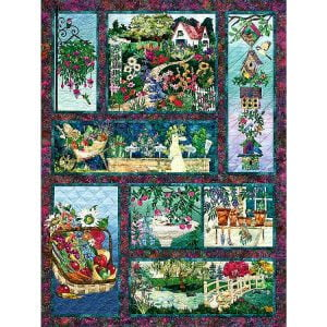 In Full Bloom 500 Piece Jigsaw Puzzle - Cobble HIll