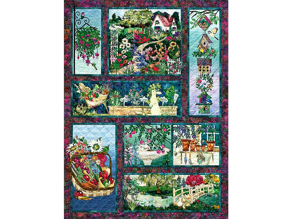 in full bloom 500 piece jigsaw puzzle puzzle palace australia. Black Bedroom Furniture Sets. Home Design Ideas
