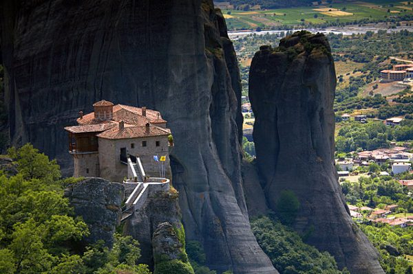 Meteora, Greece by Tom Mackie 1000 Piece Puzzle
