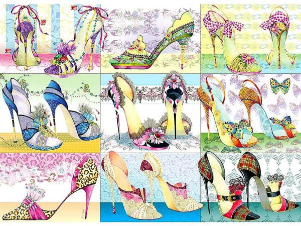 Shoe Boxes 1000 Piece Puzzle by Cobble Hill