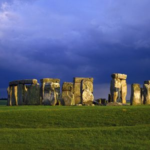 Stonehenge Wiltshire England by Tom Mackie 1000 Piece Puzzle