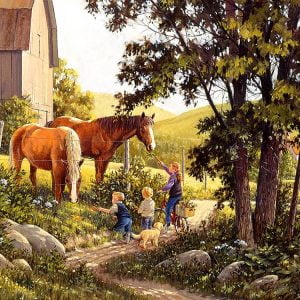 Summer Horses 500 Piece Puzzle by Cobble Hill