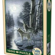 Wolves by Moonlight 1000 Piece Puzzle - Cobble Hill 1