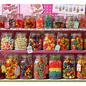 Candy Store 2000 Piece Puzzle by Cobble Hill