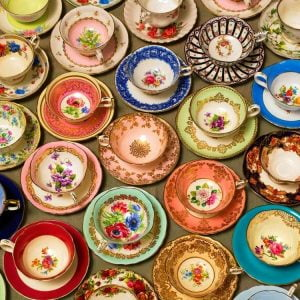 Cups and Saucers 275 Large Piece Puzzle - Cobble Hill