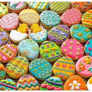 Easter Cookies 350 Piece Family Puzzle - Cobble Hill