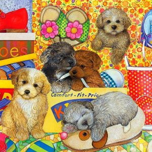 Hush Puppies 400 Piece Family Format Puzzle by Cobble Hill