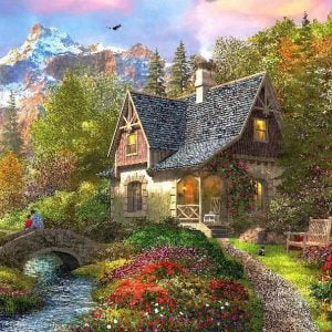 Picture Perfect 4 - Mountain Retreat 1000 Piece Puzzle
