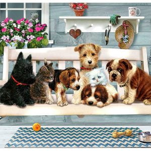 Porch Pals 350 Piece Family Puzzle by Cobble Hill