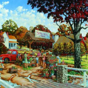 Stone Creek Farm 300 Large Piece Puzzle - Sunsout