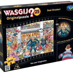 Wasgij Original 25 - Deal Breaker 1000 Piece Jigsaw Puzzle - Holdson