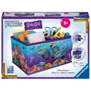 Dolphins 3D Storage Box 216 Piece -Ravensburger