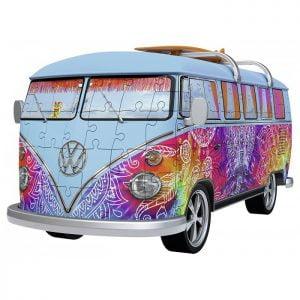 3D Puzzle - Volkswagen T1 Indian Summer 162 Piece - Ravensburger
