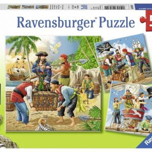 Adventure on the High Sea 3 x 49 Piece Puzzle