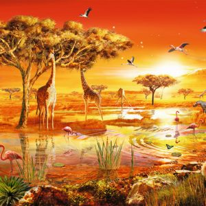 African Majesty 1000 Piece Jigsaw Puzzle - Ravensburger