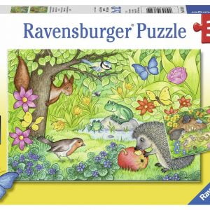 Animals in our Garden 2 x 12 Piece Puzzle