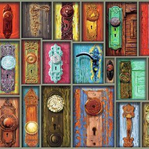Antique Doorknobs 1000 Piece Puzzle - Ravensburger