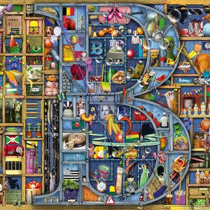 Awesome Alphabet B 1000 Piece Jigsaw Puzzle - Ravensburger