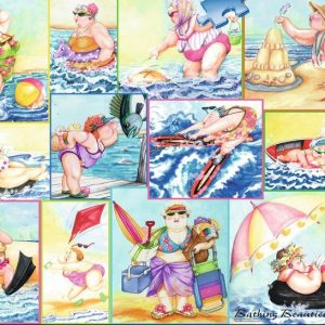 Bathing Beauties 1000 Piece Ravensburger Puzzle