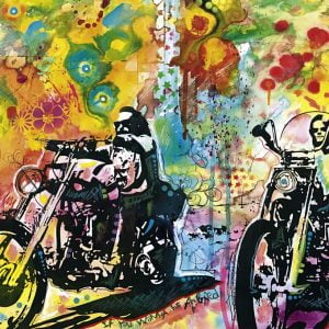 Bike Art - Easy Rider 1000 Piece Heye Puzzle