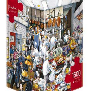 Blachon - Bon Appetit 1500 Piece Puzzle
