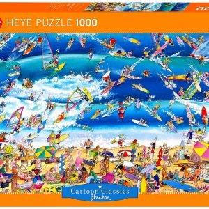 Blachon - Surfing 1000 Piece Heye Puzzle