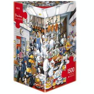 Blanchon - Bon Appetit 1500 Piece Puzzle - Heye