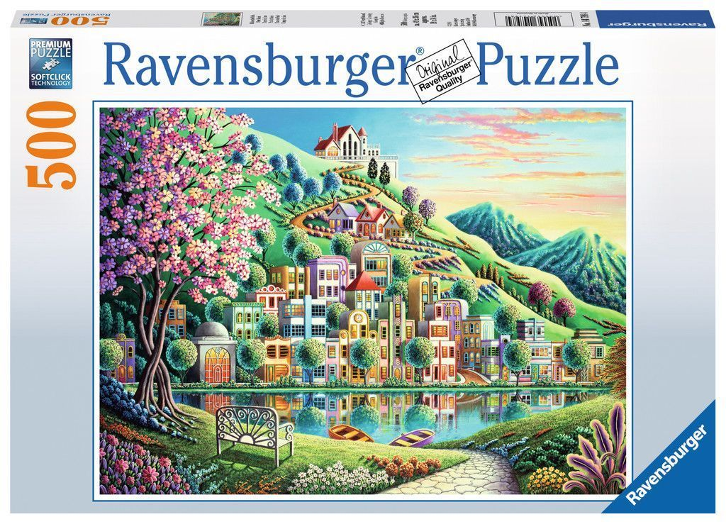 blossom park 500 piece puzzle from ravensburger 147984