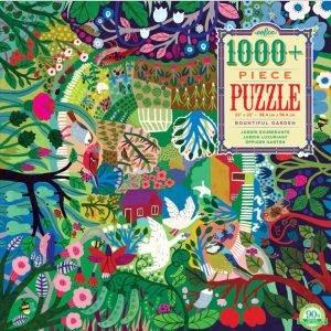 Bountiful Garden 1000+ Piece Puzzle - eeBoo