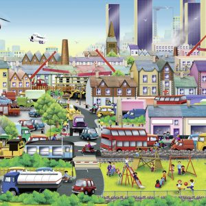 Busy Neighbourhood 60 Piece Ravensburger Puzzle