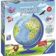 Children's Globe 3D Puzzleball 180 Piece - Ravensburger