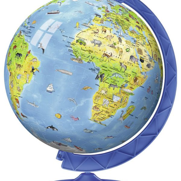 Children's Globe 3D Puzzleball 180 Piece – Ravensburger