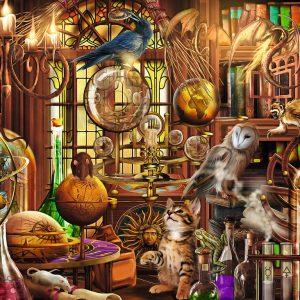 Ciro Marchetti - Merlin's Laboratory 1000 Piece Puzzle - Ravensburger