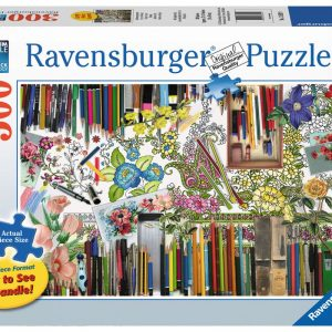 Colour with Me 300 Large Format Puzzle - Ravensburger
