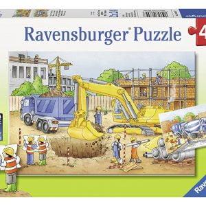 Construction Site 2 x 24 Piece Puzzle