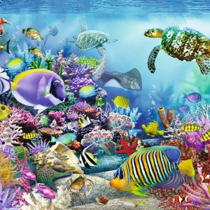 Coral Reef Majesty 2000 Piece Puzzle - Ravensburger