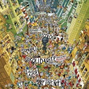 Degano - Protest 2000 Piece Heye Puzzle