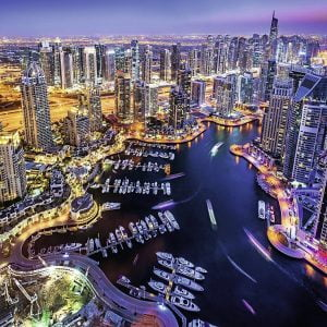 Dubai on the Persian Gulf 1500 Piece Puzzle - Ravensburger