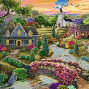 Enchanted Valley 2000 Piece Puzzle - Ravensburger