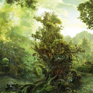 Enigma Trees -Tropical Tree 1000 Piece Heye Puzzle